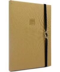 MAKENOTES Zápisník A4 CLASSIC GOLD