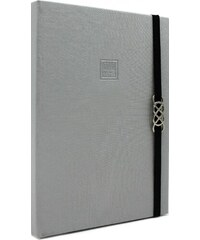 MAKENOTES Zápisník A4 CLASSIC SILVER