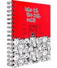 MAKENOTES Zápisník A5 CATS OUT