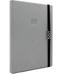 MAKENOTES Zápisník A5 CLASSIC SILVER