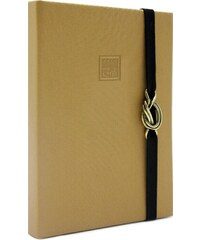 MAKENOTES Zápisník A6 CLASSIC GOLD