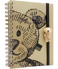 MAKENOTES Zápisník A6 motiv a figurka BEAR