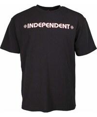 triko INDEPENDENT - Bar Cross Black (BLACK)