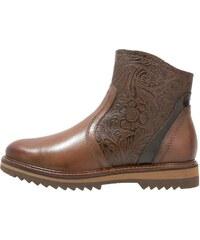 Be Natural Boots à talons cognac