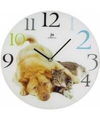 Designové nástěnné hodiny Lowell 14826 Clocks 33cm