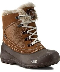 Sněhule THE NORTH FACE - Youth Shellista Extreme T92T5VNGW Dachshund Brown/Moonlight Ivory