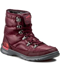 Sněhule THE NORTH FACE - Thermoball Lace II NF0A2T5LNUH Shiny Deep Garnet Red/Calypso Coral