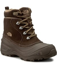 Sněhule THE NORTH FACE - Youth Chilkat Lace II T92T5RRE2 Demitasse Brown/Cub Brown