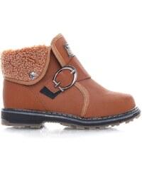 C.C.P. Zimní chlapecké boty 9907C.BR
