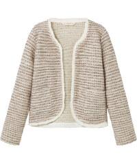 MANGO KIDS Tweed-Jacke Mit Taschen