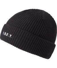 Obey Beanie mit Stitching Contorted