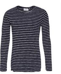 Anerkjendt Sweatshirt mit offenkantiger Verarbeitung Omesh