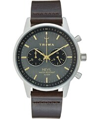 Triwa SMOKY NEVIL Chronograph dark brown classic