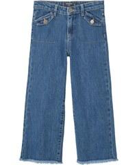 Mango PANTA Flared Jeans medium blue
