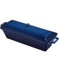 Pekáč terina litinový,26,5x8,5x6 cm modrý, LAVA