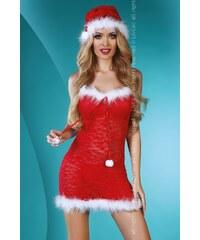 Kostým Livco Corsetti Christmas Star, červená