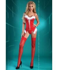 Korzet Livco Corsetti Christmas Angel, červená