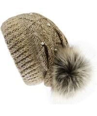 Mokalunga Bonnet Bonnet Perles Espoo 3 coloris - Couleur - Beige