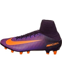 Nike Performance MERCURIAL VELOCE III AGPRO Chaussures de foot multicrampons purple dynasty/bright citrus/hyper grape