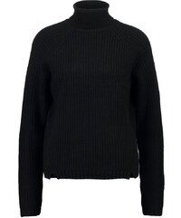 First and I FIPOXY Strickpullover black
