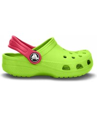 Crocs Classic Kids Volt Green/Raspberry