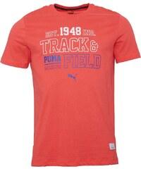 Puma Mens Athletic T-Shirt Hibiscus