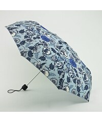 Skládací deštník FULTON Minilite - MODRÉ KVĚTY