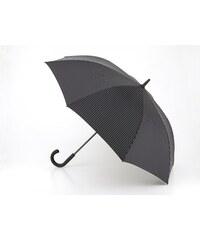 Pánský skládací deštník FULTON Knightsbridge 2, City Stripe Black Steel