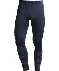 ODLO EVOLUTION WARM Caleçon long navy new/black/odlo concrete grey melange