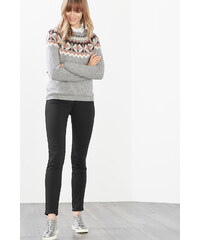 Esprit Pantalon stretch à zips décoratifs
