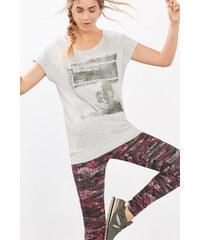 Esprit T-shirt de sport coton mélangé, imprimé