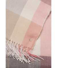 Esprit Écharpe douce à carreaux d´aspect laine