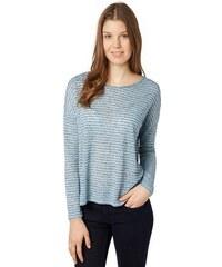 TOM TAILOR DENIM Damen T-Shirt loose fitted shirt blau L,M,S,XL,XS