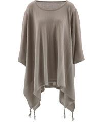 bpc bonprix collection Poncho-Pullover mit Zipfel in braun für Damen von bonprix