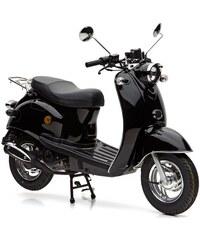 Mofaroller 49 ccm 25 km/h Venezia NOVA MOTORS schwarz