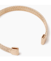 Esprit Bracelet rigide en métal doré