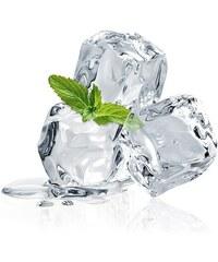 Eurographics Glasbild Three Mint Ice Cubes 20/20cm EUROGRAPHICS weiß