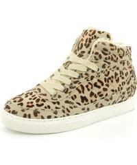 Pepe Jeans Sneaker Montreal Leopard Leder