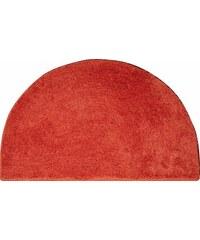 GRUND Badematte halbrund Grund LEX Höhe 32 mm rutschhemmender Rücken orange 8 (halbrund 50x80 cm)