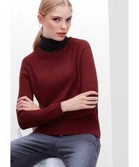 Damen RED LABEL Feinstrickpullover aus Woll-Mix S.OLIVER RED LABEL rot L (44),L (46),M (40),M (42),S (36),S (38),XS (34),32