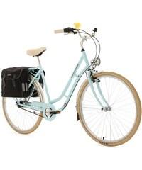 Damen-Cityrad 28 Zoll 7 Gang Shimano Nexus inkl. Doppelpacktasche Verona KS CYCLING blau