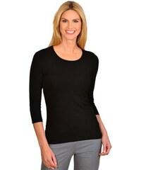 TRIGEMA Damen TRIGEMA Shirt aus Viskose 3/4-Ärmel schwarz L,M,S,XL,XXL