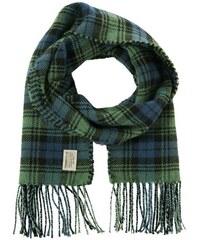 Damen Schal doubled check wool look scarf TOM TAILOR DENIM grün OneSize