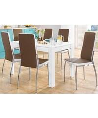 Baur Stühle (2-er + 4-er Stück) braun