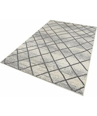 Teppich Zala Living Rhombe gewebt ZALA LIVING natur 2 (B/L: 70x140 cm),3 (B/L: 140x200 cm),4 (B/L: 160x230 cm),6 (B/L: 200x290 cm)