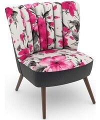 build-a-chair Stuhlsessel Aspen im Retrolook zum Selbstgestalten MAX WINZER 251 (=Sitzfläche/Rücken: Samtvelours rosé),252 (=Sitzfläche/Rücken: Samtvelours anthrazit),254 (=Sitzfläche/Rücken: Samtvelo