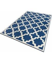 ZALA LIVING Teppich Zala Living Noble gewebt blau 2 (B/L: 70x140 cm),3 (B/L: 140x200 cm),4 (B/L: 160x230 cm),6 (B/L: 200x290 cm)