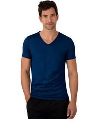TRIGEMA V-Shirt - Slim Fit TRIGEMA blau L,M,S,XL,XXL,XXXL