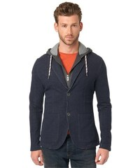 Tom Tailor Blazer sweatblazer w/ detachable hood blau L,S,XL,XXL