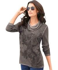 Damen Classic Inspirationen Pullover bedruckt CLASSIC INSPIRATIONEN braun 36,38,40,42,44,46,48,50,52,54